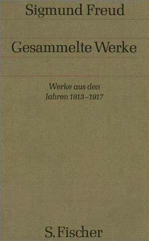 Werke aus den Jahren 1913-1917