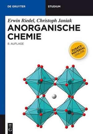 Anorganische Chemie de Erwin Riedel