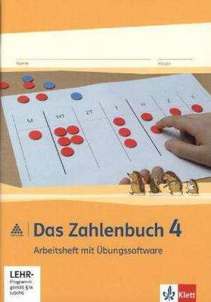 Das Zahlenbuch/Neu/Arbeitsheft mit CD-ROM 4. Sj.