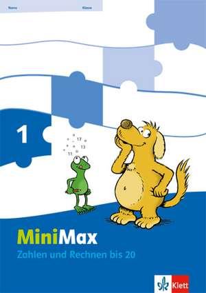 Mathematik MiniMax. Arbeitsheft Zahlen und Rechnen; 2teilig. 1. Schuljahr