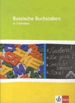 Russische Buchstaben - kein Problem