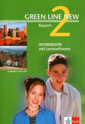 Green Line New 2. Workbook mit CD-ROM. Bayern