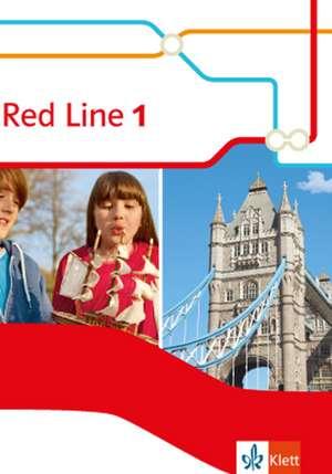 Red Line 1. Schuelerbuch (Fester Einband). Ausgabe 2014