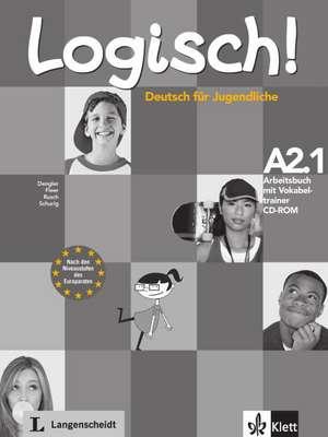 Logisch! Arbeitsbuch A2.1 mit Vokabeltrainer CD-ROM de Stefanie Dengler