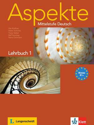 Aspekte 1 (B1+) - Lehrbuch ohne DVD