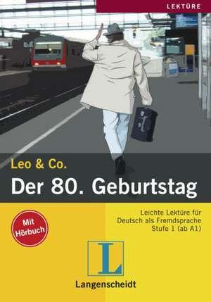 Der 80. Geburtstag (Stufe 1) - Buch mit Audio-CD imagine