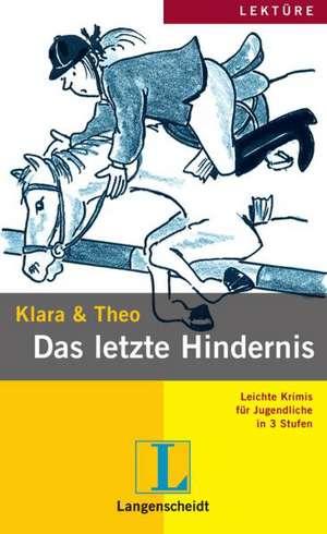 Das Letzte Hindernis (stufe 2) - Buch Mit Mini-cd