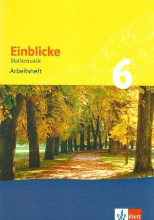 Einblicke Mathematik 6. Arbeitsheft. Baden-Wuerttemberg