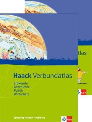 Haack Verbundatlas. Mit Arbeitsheft Kartenlesen. Sekundarstufe I. Ausgabe fuer Hamburg und Schleswig-Holstein