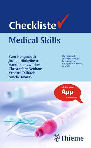 Checkliste Medical Skills