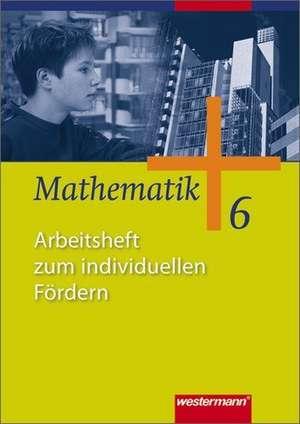 Mathematik 6. Arbeitsheft zum individuellen Foerdern