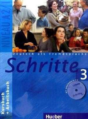Schritte 3. Kursbuch und Arbeitsbuch mit CD