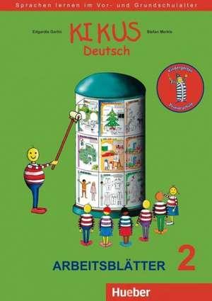 KIKUS Deutsch. Arbeitsblaetter 2