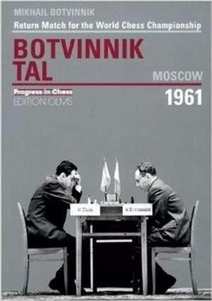 World Championship Return Match Botvinnik V Tal, MOSCOW 1961