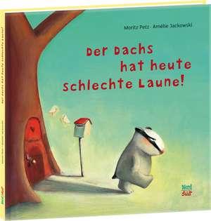 Der Dachs Hat Heute Schlechte Laun:  German Mini Edition de Moritz Petz