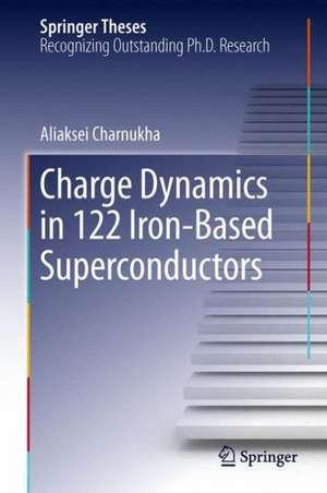 Charge Dynamics in 122 Iron-Based Superconductors de Aliaksei Charnukha
