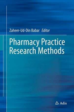 Pharmacy Practice Research Methods imagine