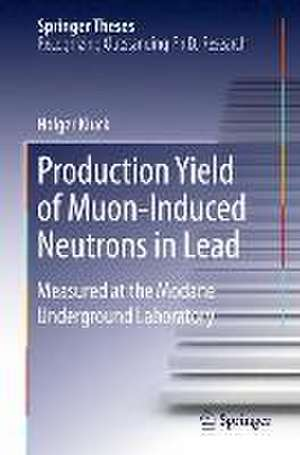 Production Yield of Muon-Induced Neutrons in Lead: Measured at the Modane Underground Laboratory de Holger Kluck
