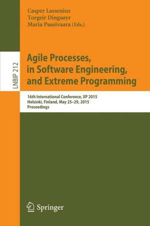 Agile Processes In Software Engineering And Extrem