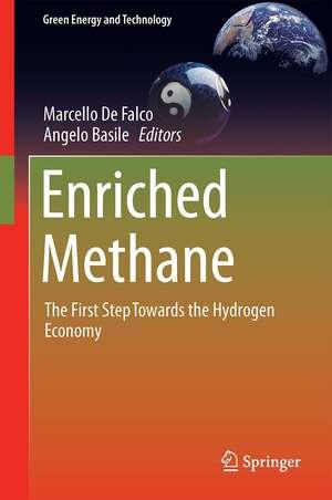 Enriched Methane: The First Step Towards the Hydrogen Economy de Marcello De Falco