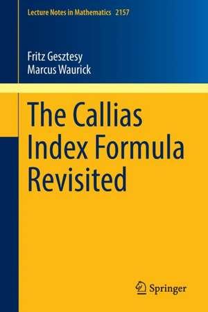 The Callias Index Formula Revisited imagine