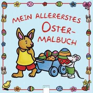 Mein allererstes Ostermalbuch