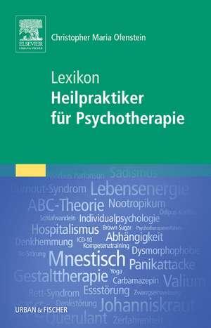 Lexikon Heilpraktiker fuer Psychotherapie