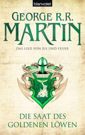 Das Lied von Eis und Feuer 04. Die Saat des goldenen Löwen de George R. R. Martin