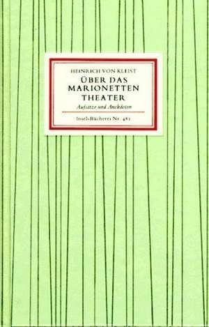 UEber das Marionettentheater