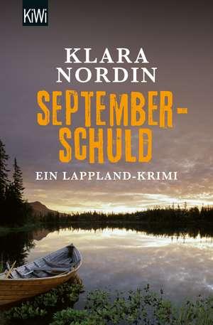 Septemberschuld de Klara Nordin