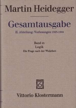 Martin Heidegger Gesamtausgabe