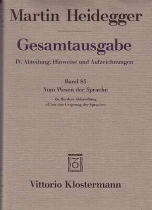 Martin Heidegger, Seminar