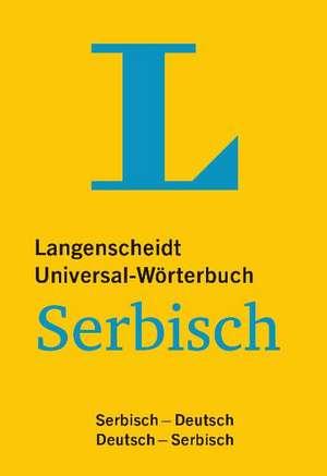 Langenscheidt Universal-Woerterbuch Serbisch