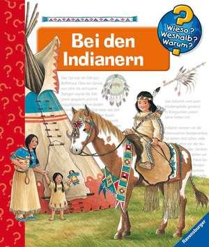 Bei den Indianern de Angela Weinhold
