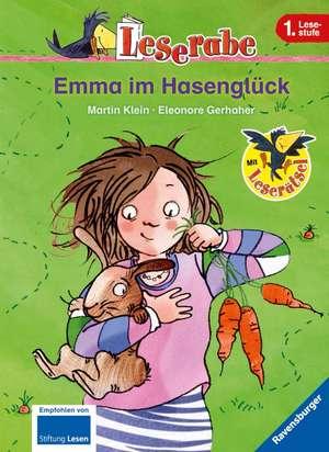 Leserabe: Emma im Hasenglueck