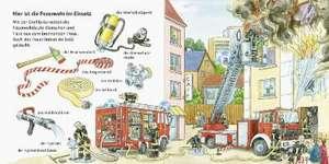Mein erstes Wörterbuch: Feuerwehr de Susanne Gernhäuser