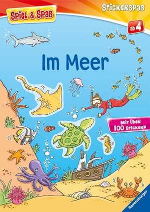 Spiel & Spass - Stickerspass: Im Meer