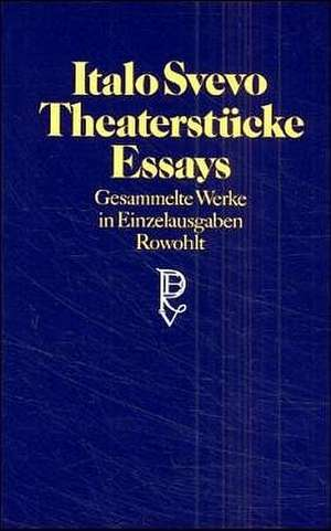 Theaterstuecke, Essays