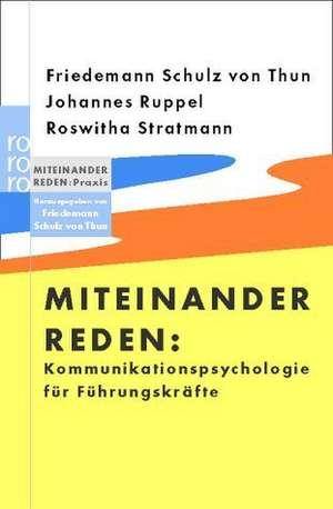 Kommunikationspsychologie fuer Fuehrungskraefte