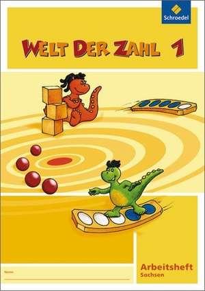 Welt der Zahl 1. Arbeitsheft. Nordrhein-Westfalen