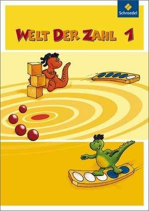 Welt der Zahl 1. Schuelerband. Hessen, Rheinland-Pfalz und Saarland