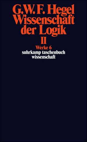 Wissenschaft der Logik II