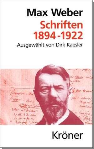 Schriften 1894 - 1922
