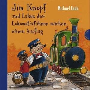 Jim Knopf und Lukas der Lokomotivfuehrer machen einen Ausflug