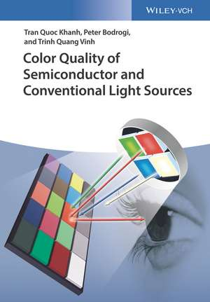 Color Quality of Semiconductor and Conventional Light Sources de Tran Quoc Khanh