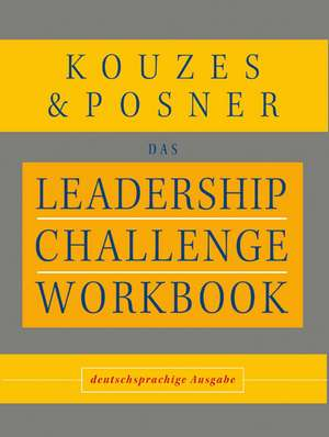 Leadership Challenge Workbook