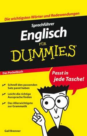 Sprachfuehrer Englisch fuer Dummies Das Pocketbuch