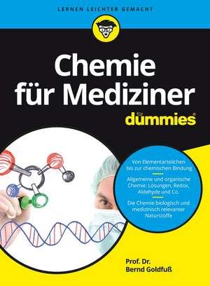 Chemie für Mediziner für Dummies