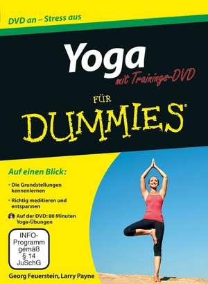 Yoga für Dummies mit Video–DVD de Georg Feuerstein