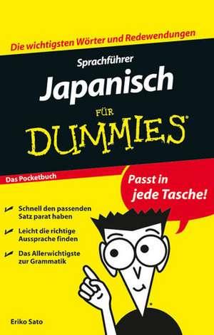 Sprachführer Japanisch für Dummies de Eriko Sato